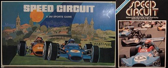 3m avalon hill speed circuit auto race board games