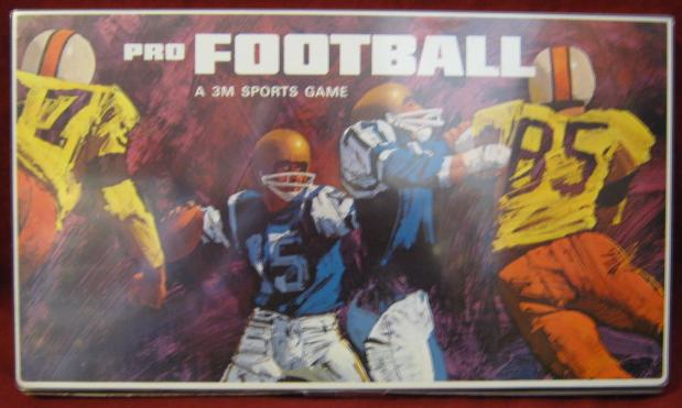 3M Pro Football game box