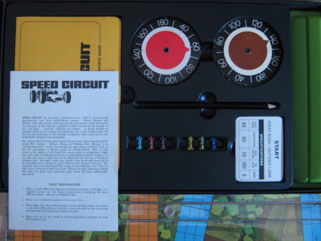 3M Speed Circuit game parts