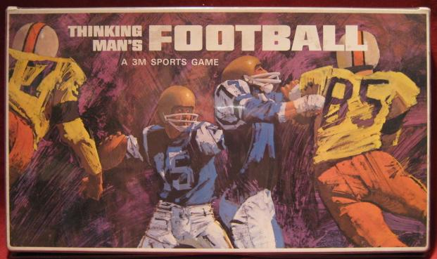 3M Thinking Man's Football game box