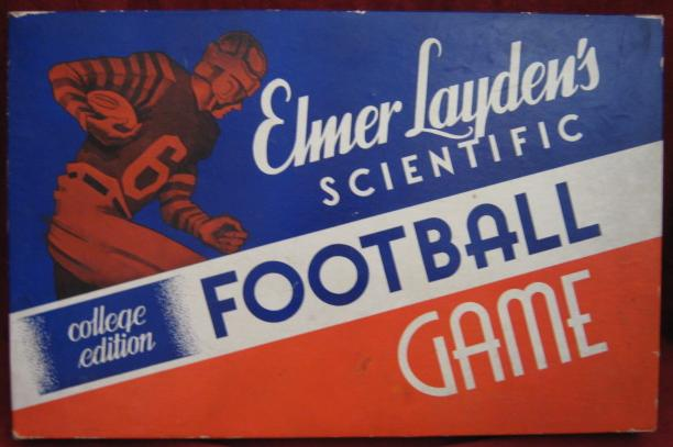 cadaco elmer layden's varsity scientific football game 1942 Edition