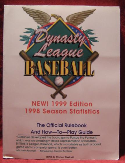 dynasty / pursue the pennant baseball game teams 1998