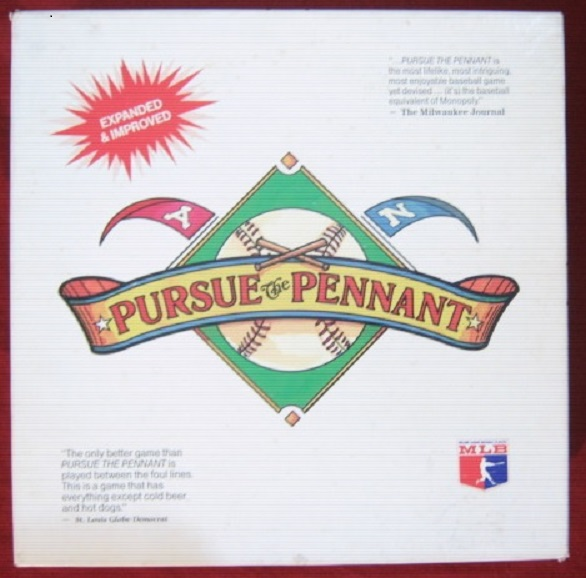 dynasty / pursue the pennant game box 1987