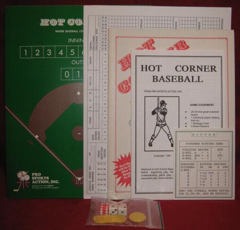 hot corner baseball game parts atg