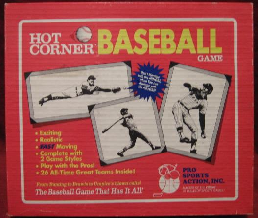 hot corner game box atg