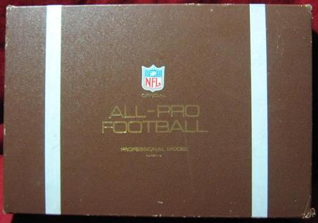 ideal all pro football game parts box