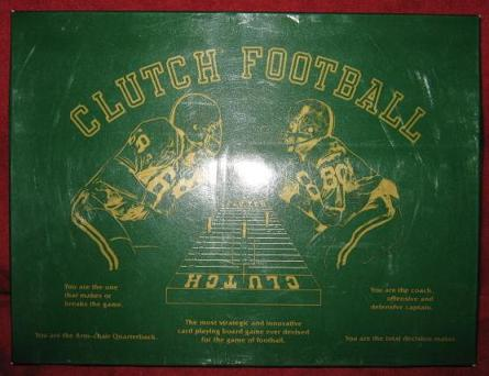 Maine-ly CLUTCH FOOTBALL Game box