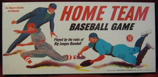 Selchow & Righter HOME TEAM BASEBALL Game 1948 Edition