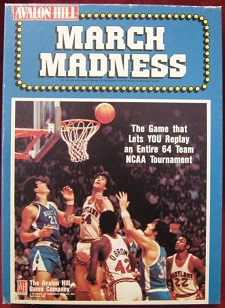 AVALON HILL MARCH MADNESS GAME