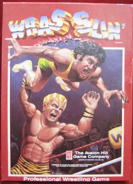 Avalon Hill Wrasslin Game Box