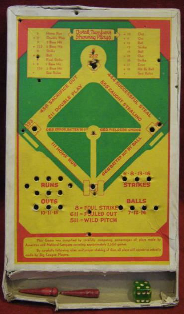 American Pocket Baseball Game