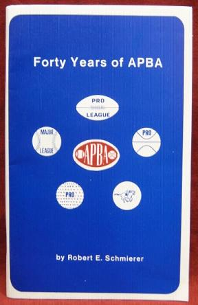 forty years of apba book