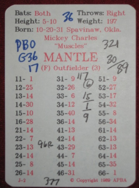 4027 apba baseball game 1962 r season cards