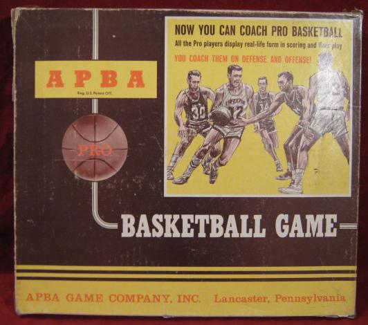 apba basketball game box 1991-92
