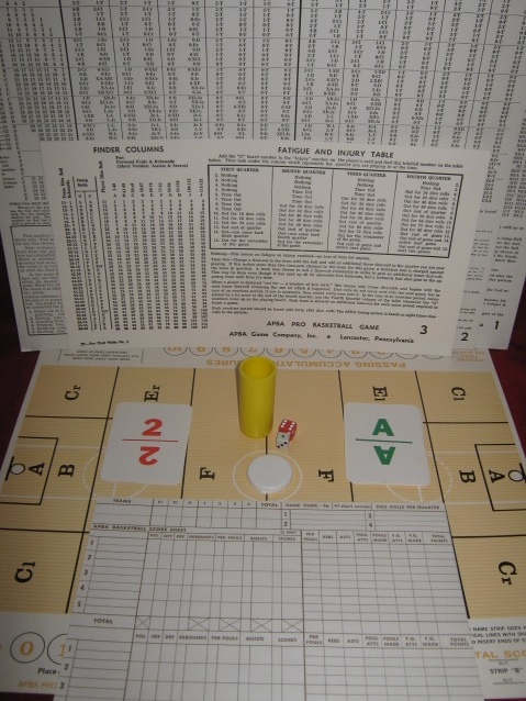 apba basketball game parts 1991-92
