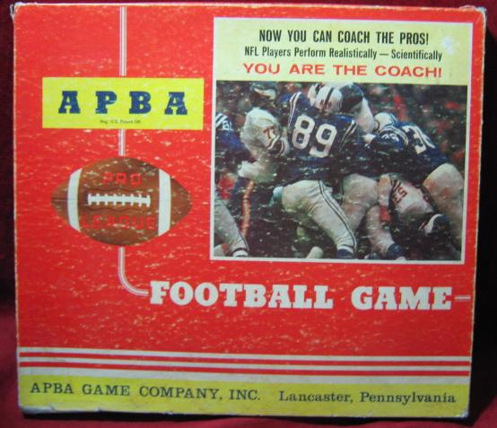 apba football game box 1975
