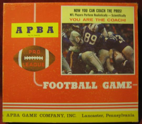 apba football game box XXXX