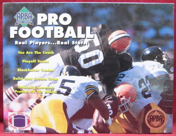apba football game box 1995