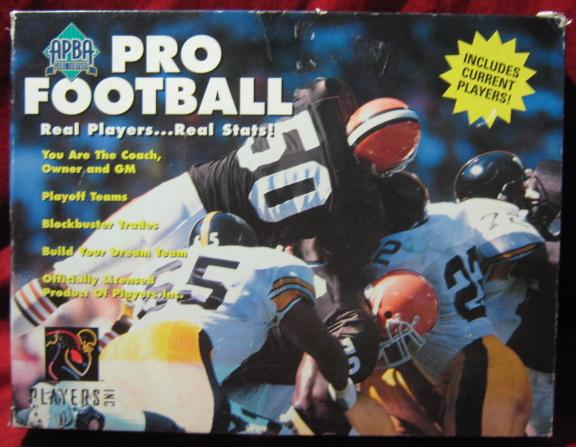 apba football game box 1996