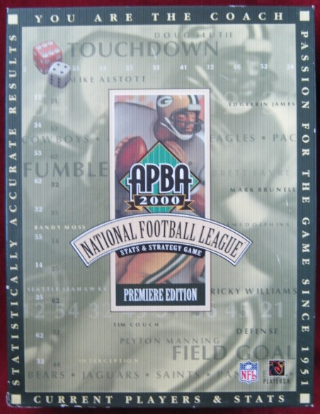 apba football game box 1999