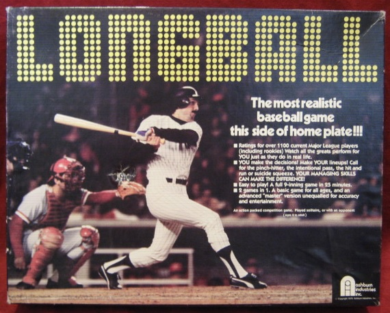 longball baseball game box
