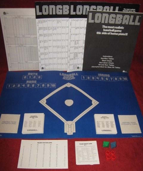 longball baseball game parts