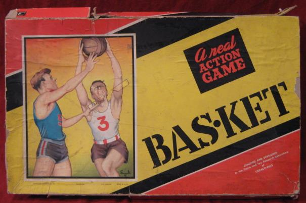 Cadaco Bas-Ket Game 1950 edition