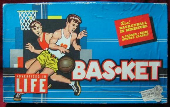 CADACO BAS-KET GAME 1988 EDITION BOX