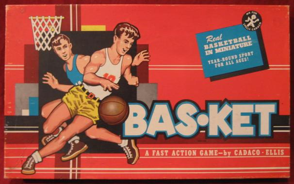 Cadaco Bas-Ket Game 1960 edition
