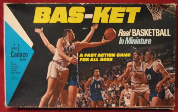 Cadaco Bas-Ket Game 1969 Edition