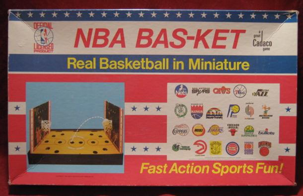 Cadaco Bas-Ket Game 1983 nba