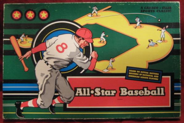 Cadaco All Star Baseball Game box 1959