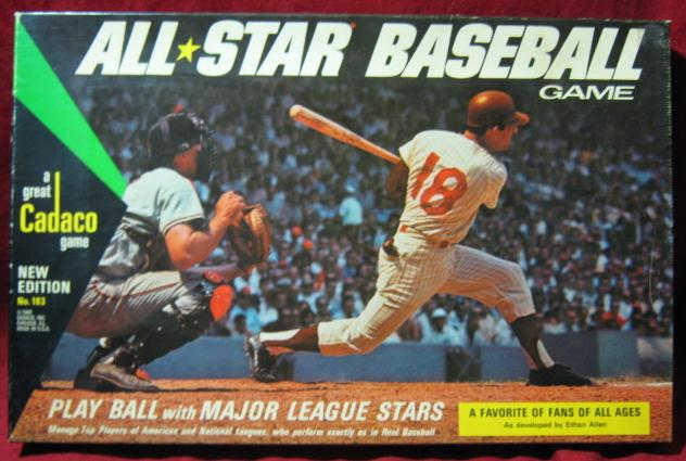 Cadaco All Star Baseball Game box 1969