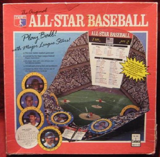 Cadaco All Star Baseball Game box 1989