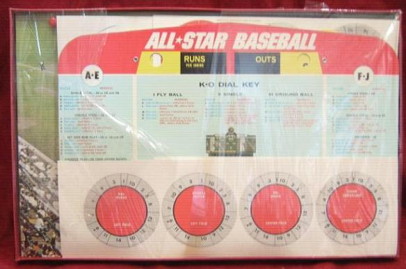 Cadaco All Star Baseball Game Parts 1976B