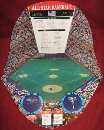 Cadaco All Star Baseball Game Parts 1989