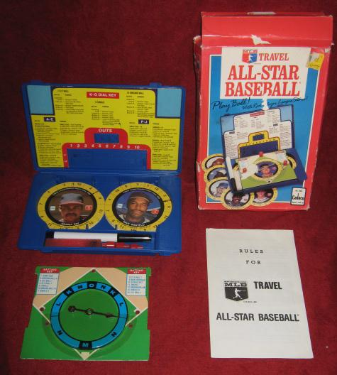 Cadaco All Star Baseball Travel Game 1989