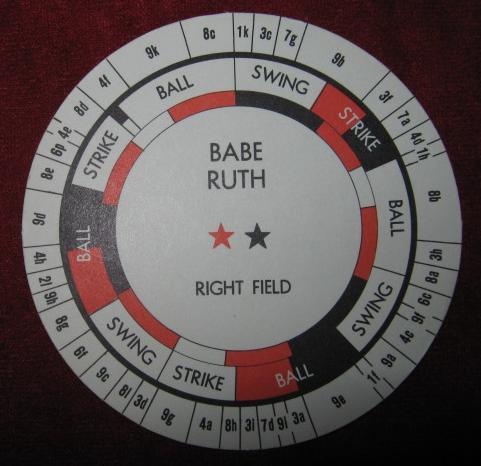 Cadaco Strategic All Star Baseball Game 1971 Edition