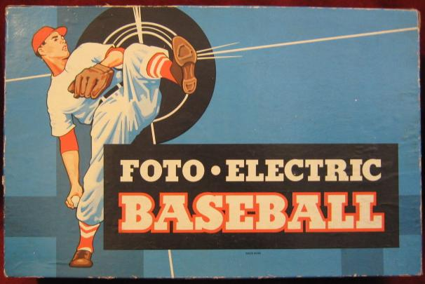 CADACO FOTO-ELECTRIC BASEBALL GAME