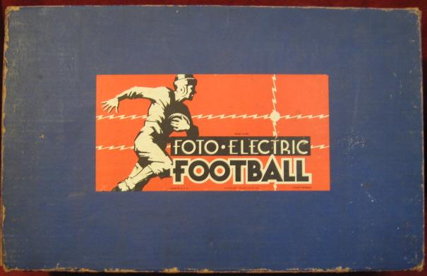 Cadaco Foto-Electric Football Game box 1941