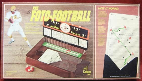 CADACO FOTO ELECTRIC FOOTBALL GAME 1977 Edition