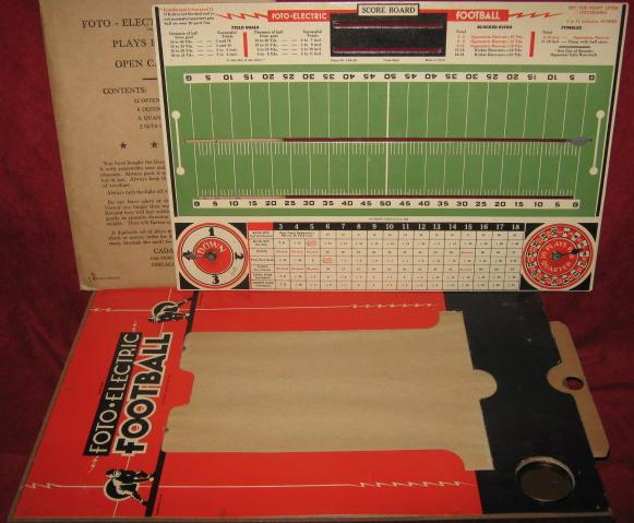 Cadaco Foto Electric Football Game Parts 1946