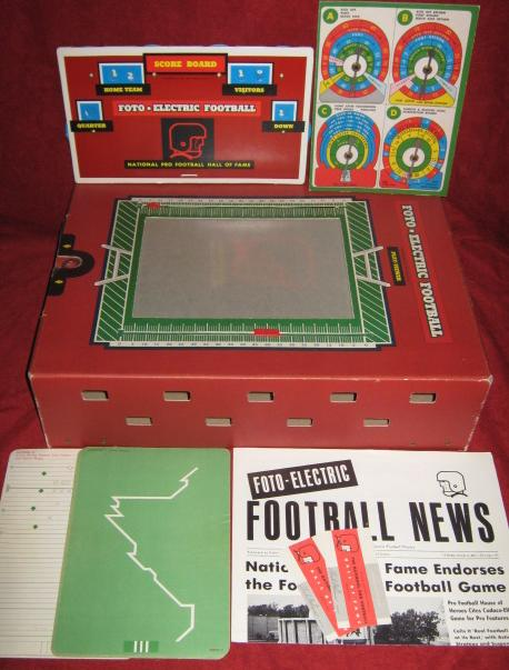 Cadaco Foto Electric Football Game Parts 1965