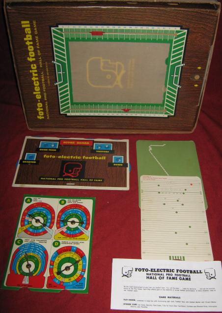 Cadaco Foto Electric Football Game Parts 1969