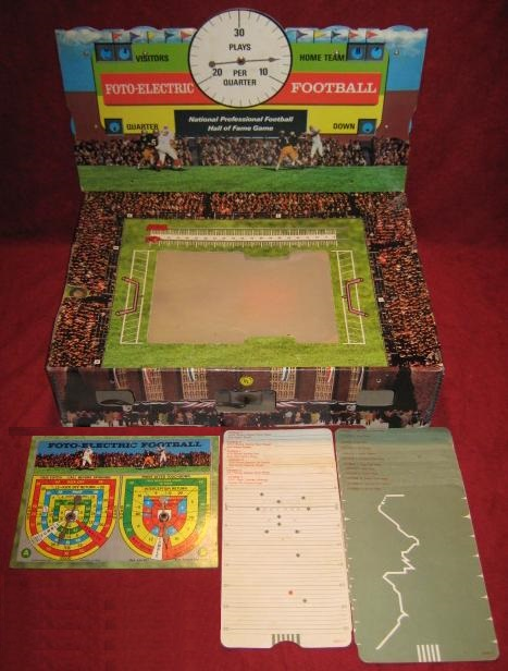 Cadaco Foto Electric Football Game Parts 1970