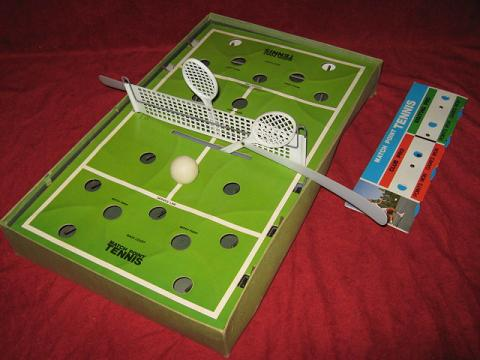 CADACO MATCH POINT TENNIS GAME 1971 Edition parts