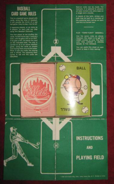 Ed-u-cards NEW YORK METS Game 1964 parts