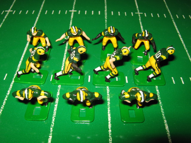 Tudor Electric Football Team GREEN BAY PACKERS Dark Jersey HA73