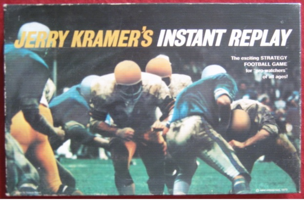 emd jerry kramer's instant replay football game box