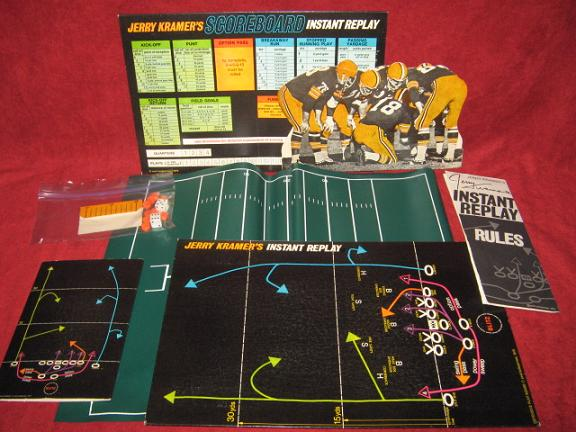 emd jerry kramer's instant replay football game parts